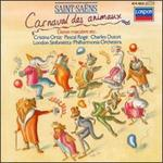 Saint-Saens: Carnival of the Animals - Antony Pay (clarinet); Christopher van Kampen (cello); Cristina Ortiz (piano); London Sinfonietta; Pascal Rogé (piano); Robin McGee (double bass); Sebastian Bell (flute); Charles Dutoit (conductor)