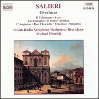 Salieri: Overtures - Slovak Radio Symphony Orchestra; Michael Dittrich (conductor)