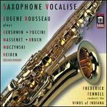 Saxophone Vocalise