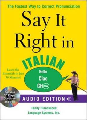 Say It Right in Italian: The Fastest Way to Correct Pronunciation - Epls