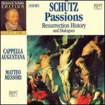 Schütz: Passions; Resurrection History; Dialogues [Box Set]