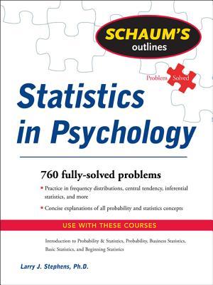 Schaum's Outline of Statistics in Psychology - Stephens, Larry J