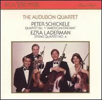 Schickele: String Quartet No. 1; Laderman: String Quartet No. 6 - Audubon Quartet