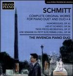 Schmitt: Complete Original Works for Piano Duet and Duo, Vol. 4