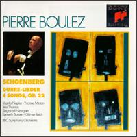 Schoenberg: Gurre-Lieder; 4 Orchestral Songs - BBC Singers (vocals); Gunter Reich (vocals); Jess Thomas (vocals); Kenneth Bowen (vocals); Marita Napier (vocals);...