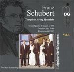 Schubert: Complete String Quartets, Vol. 3