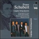 Schubert: Complete String Quartets, Vol. 4