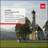 Schubert: Deutsche Messe - Adolf Dallapozza (tenor); Capella Bavariae; Dietrich Fischer-Dieskau (baritone); Elmar Schloter (organ);...