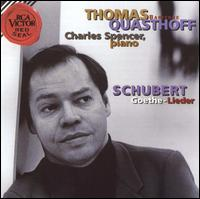 Schubert: Goethe-Lieder - Charles Spencer (piano); Thomas Quasthoff (baritone)