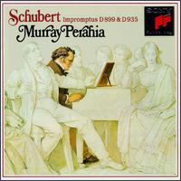 Schubert: Impromptus For Piano - Murray Perahia (piano)