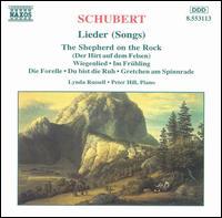 Schubert: Lieder (Songs) - David Campbell (clarinet); Lynda Russell (soprano); Peter Hill (piano)
