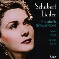 Schubert Lieder - Edwin Fischer (piano); Elisabeth Schwarzkopf (soprano); Gerald Moore (piano); Karl Hudez (piano)
