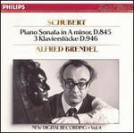 Schubert: Piano Sonata in A minor, D 845; 3 Klavierstücke, D 946