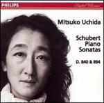 Schubert: Piano Sonatas D. 840 & 894