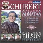 Schubert: Piano Sonatas, D664, D566, D845