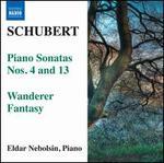 Schubert: Piano Sonatas Nos. 4 & 13; Wanderer Fantasy