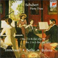 Schubert: Piano Trios D 898 & d 929 - Anner Bylsma (cello); Jos van Immerseel (piano); Vera Beths (violin)
