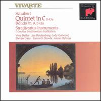 Schubert: Quintet in C C956; Rondo in A D438 - Anner Bylsma (cello); Jody Gatwood (violin); Kenneth Slowik (cello); Lisa Rautenberg (violin); Steven Dann (viola);...