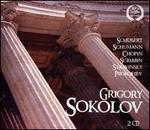 Schubert, Schumann, Chopin, Scriabin, Stravinsky, Prokofiev