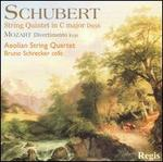 Schubert: String Quintet in C major; Mozart: Divertimento, K. 136