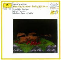 Schubert: String Quintet - Gerhard Voss (violin); Hermann Voss (viola); Melos Quartett Stuttgart; Mstislav Rostropovich (cello); Peter Buck (cello);...