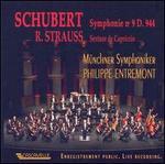 Schubert: Symphonie No. 9 D. 944; Richard Strauss: Sextuor de Capriccio