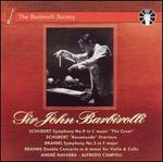 "Schubert: Symphony No. 9 ""The Great""; Rosamunde Overture; Brahms: Symphony No. 3; Double Concerto"