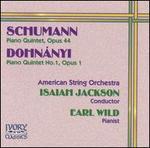 Schumann, Dohnányi: Piano Quintets