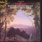 Schumann: Kerner Lieder, Op35; Liederkreis, Op39