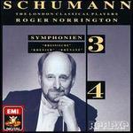 """Schumann: Symphonien Nos. 3 """"Rheinische"""" & 4"""