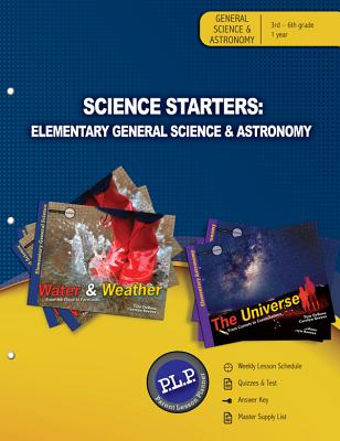 Science Starters Elementary General Science & Astronomy Parent Lesson Planner - DeRosa, Tom