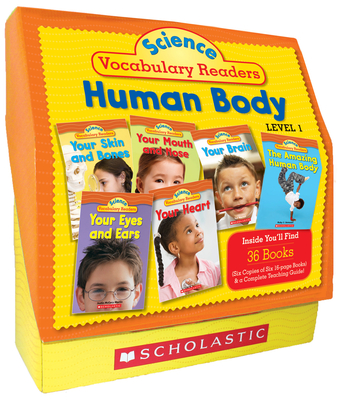Science Vocabulary Readers Set: Human Body: Exciting Nonfiction Books That Build Kids' Vocabularies Includes 36 Books (Six Copies of Six 16-Page Titles) Plus a Complete Teaching Guide Book Topics: Human Body, Brain, Heart, Eyes and Ears, Nose and Mouth... - Charlesworth, Liza