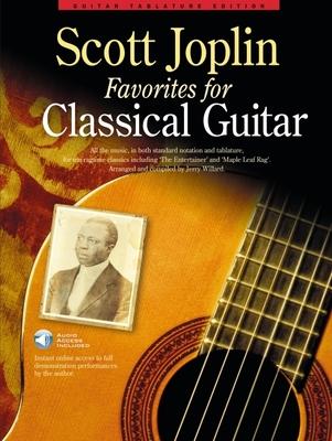 Scott Joplin Favorites for Classical Guitar (Book/Audio Download) -