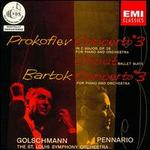 Serge Prokofiev: Piano Concerto No. 3 in C major; Chout Ballet Suite; Bela Bartok: Piano Concerto No. 3