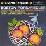 Sergei Prokofiev: Love for Three Oranges; Chopin: Les Sylphides; Liszt: Les Pr�ludes; Mazeppa