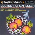 Sergei Prokofiev: Love for Three Oranges; Chopin: Les Sylphides; Liszt: Les Préludes; Mazeppa