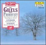 Sergei Prokofiev: Piano Sonata No. 8 Op. 84; Visions fugitives, Op. 22; Schumann: Nachtstücke, Op. 25
