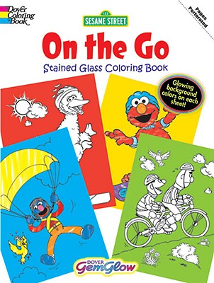 Sesame Street on the Go Gemglow Stained Glass Coloring Book - Sesame Street, and Coloring Books