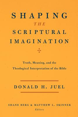 Shaping the Scriptural Imagination: Truth, Meaning, and the Theological Interpretation of the Bible - Juel, Donald H, and Berg, Shane (Editor), and Skinner, Matthew L (Editor)