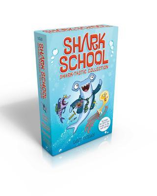 Shark School Shark-Tastic Collection Books 1-4: Deep-Sea Disaster; Lights! Camera! Hammerhead!; Squid-Napped!; The Boy Who Cried Shark - Ocean, Davy
