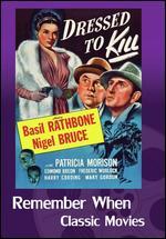 Sherlock Holmes: Dressed to Kill - Roy William Neill