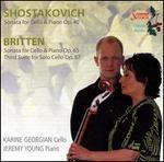 Shostakovich, Britten: Cello Sonatas