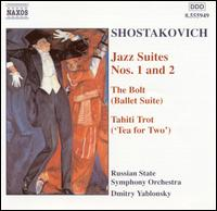 Shostakovich: Jazz Suites Nos. 1 & 2; The Bolt Suite; Tahiti Trot - Russian State Symphony Orchestra; Dmitry Yablonsky (conductor)