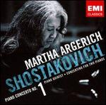 Shostakovich: Piano Concerto No. 1; Piano Quintet; Concertino for Two Pianos