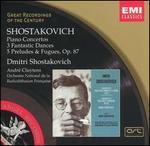 Shostakovich: Piano Concertos; 3 Fantastic Dances; 5 Preludes & Fugues Op. 87