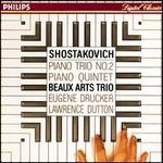 Shostakovich: Piano Trio No. 2; Piano Quintet
