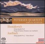 """Shostakovich: String Quartet No. 8; Auerbach: String Quartet No. 5 """"Cetera desunt"""" [Hybrid SACD]"""