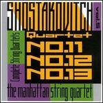 Shostakovich: String Quartets Nos. 11, 12, 13