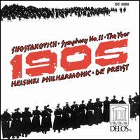 "Shostakovich: Symphnoy No. 11 ""The Year 1905"" - Sven-Erik Paananen (horn); Helsinki Philharmonic Orchestra; James DePreist (conductor)"