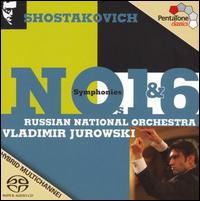 Shostakovich: Symphonies Nos. 1 & 6 - Russian National Orchestra; Vladimir Jurowski (conductor)